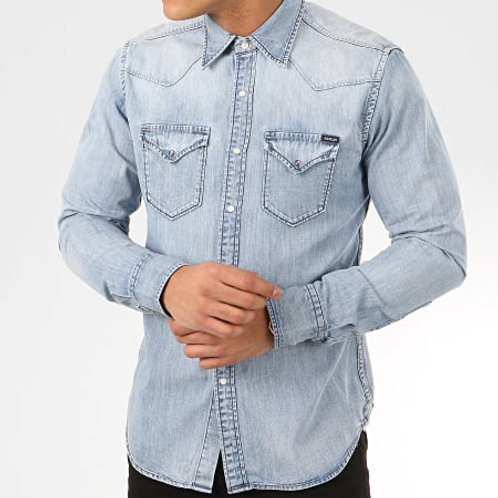 Chemise manches longues en Jean REPLAY
