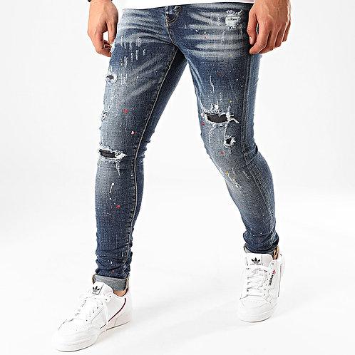 Jeans skinny bleu denim