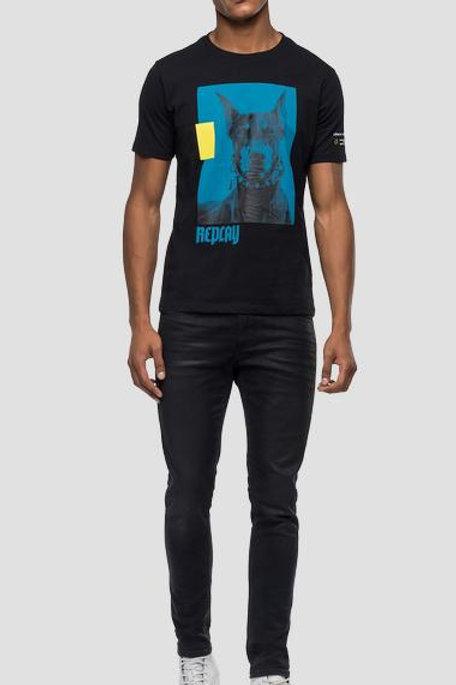 T-shirt coupe normale imprimé