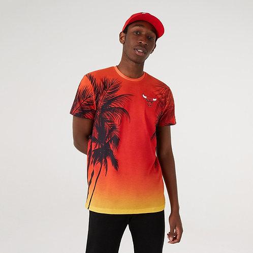 T-shirt imprimé Summer City des Chicago Bulls