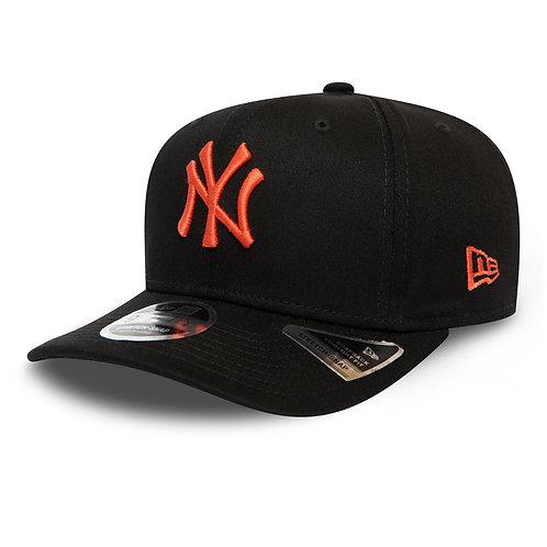 Casquette noire 9Fifty NY orange