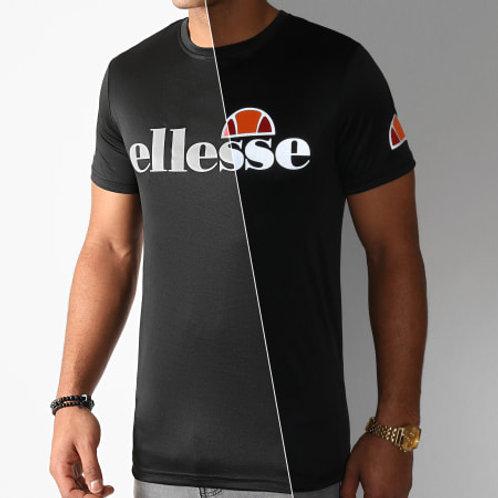 T-shirt noir Pozzio