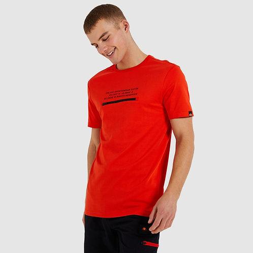 T-shirt rouge Piedmont