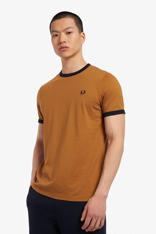 T-shirt à bordures contrastantes