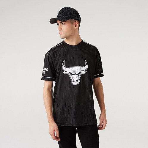 T-shirt type maillot logo oversize C.BULLS