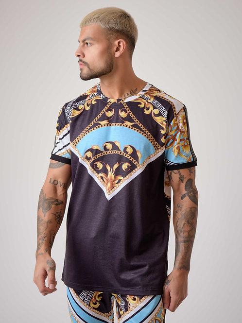 Tee-shirt motif baroque