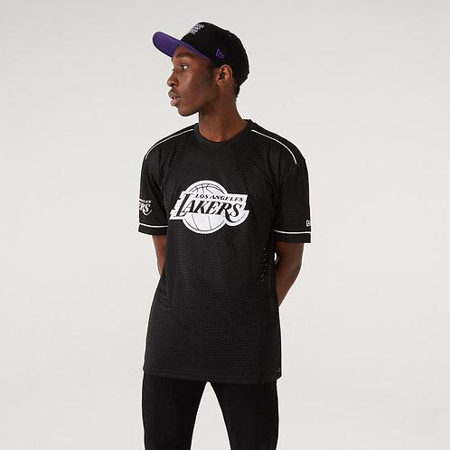 T-shirt type maillot logo oversize des LA Lakers