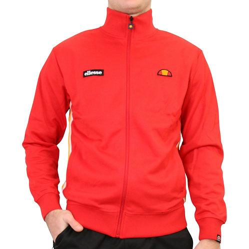 Veste zipée rouge