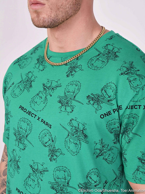 """Tee-shirt """"One Piece"""" all over"""