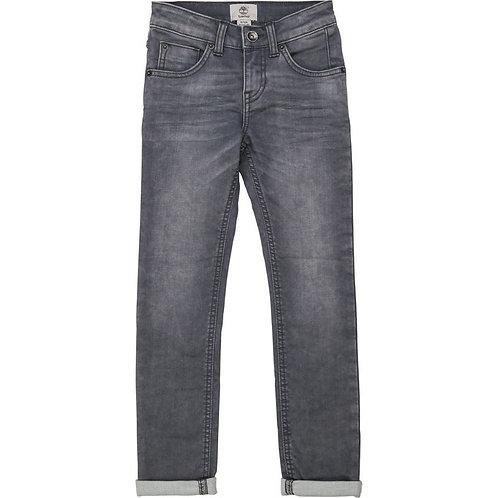 Jean skinny coton molletonné