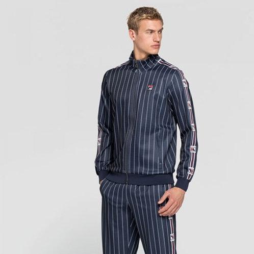 Veste zippée à rayures FILA