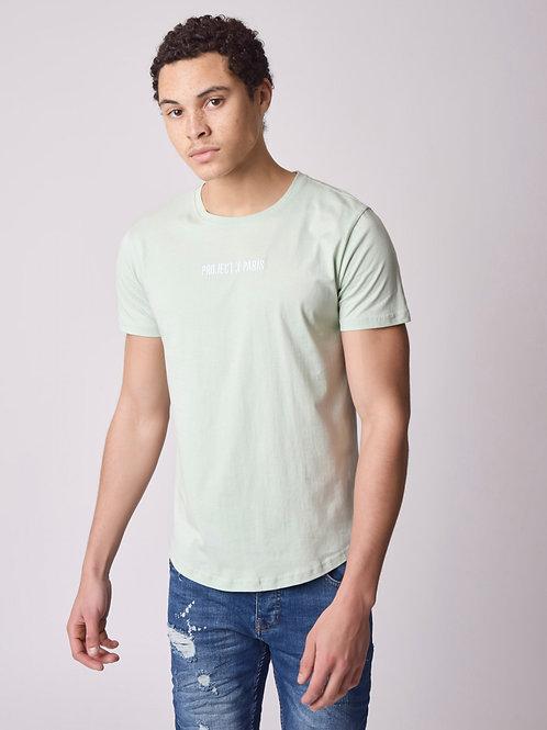 Tee-shirt basic broderie logo