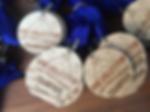 Custom engraved championship medals.