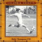 Engraved photo tile awar for graduating soccer player.
