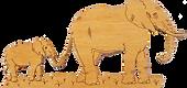Home decor elephants.