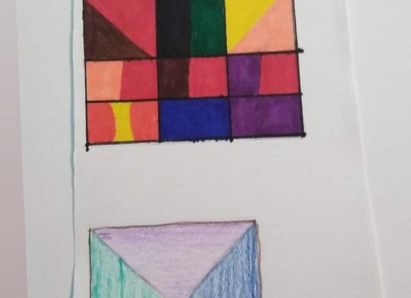 Geometric pattern doodle