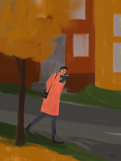 """Living on the edge. Autumn edition"""