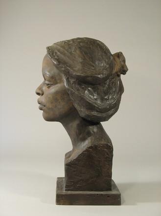 """Black Women with Lion Head"""