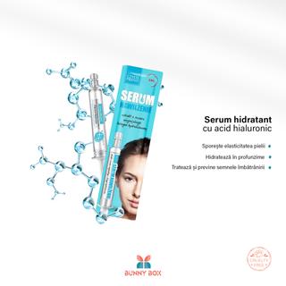 Serum Hidratant cu Acid Hialuronic