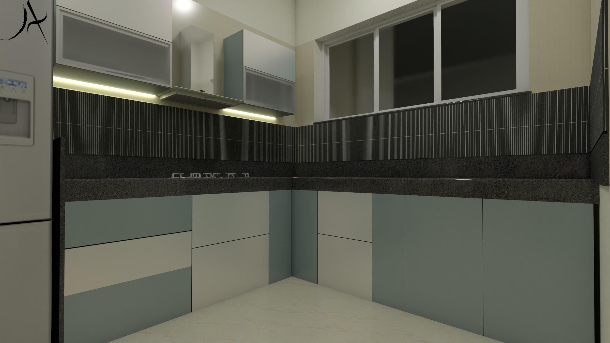 12 Kitchen View 2