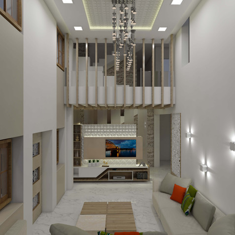 Luxurious 4BHK Bunglow Interior