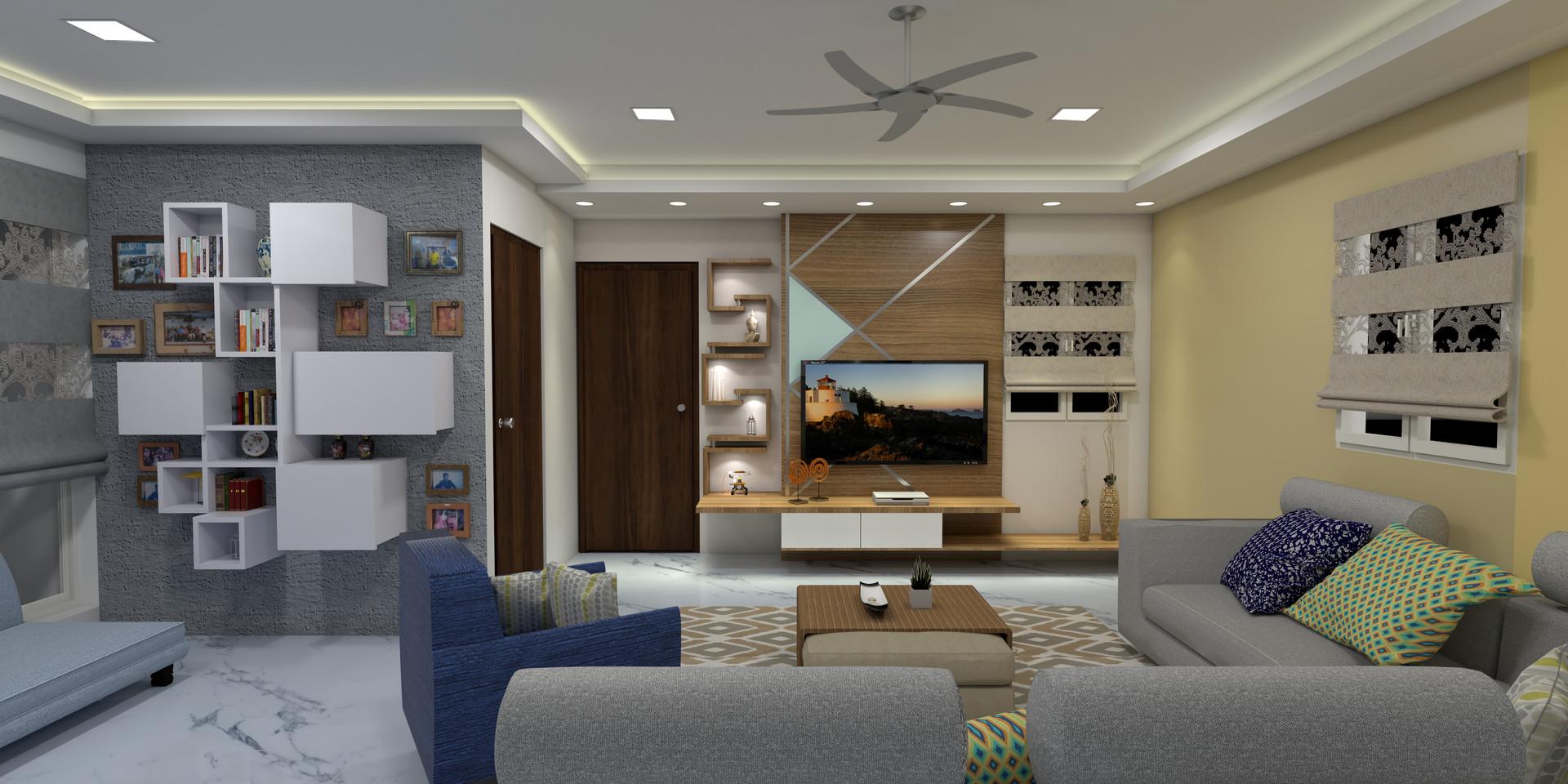 Premium Large Spaces 4BHK Interior
