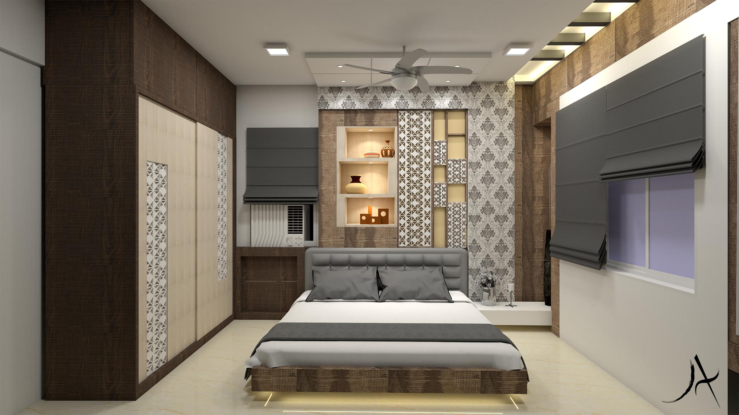 16 Master Bedroom Option 2 View 1