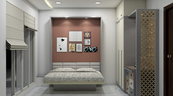 Guest Room Foldable Bed