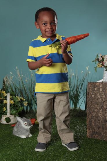 Easter portrait