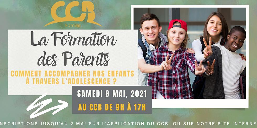 La formation des parents - Le 8 mais 2021