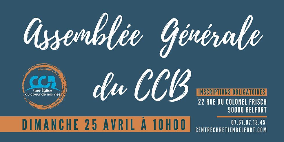 Assemblée Générale du CCB du 25 avril 2021 (1)