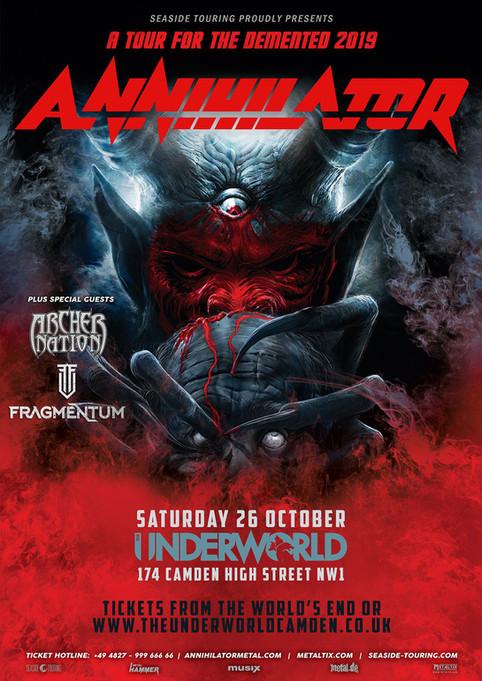 London Show with Annihilator