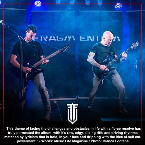 """Badass Belgian Metal Band Fragmentum Release First Album"""