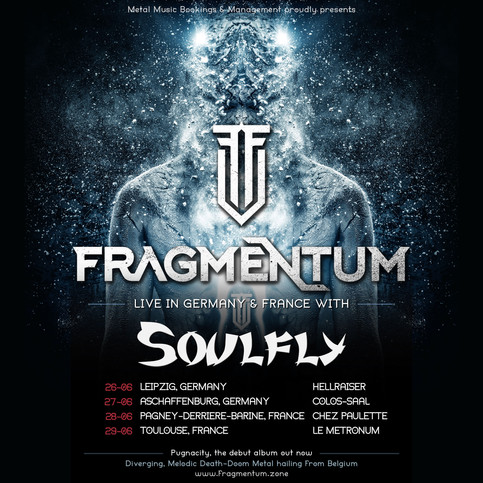 Soulfly EU Tour as Special Guests
