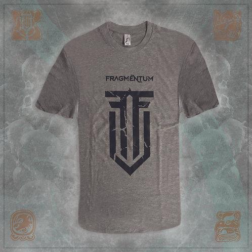 T-Shirt Logo Black ripple Male