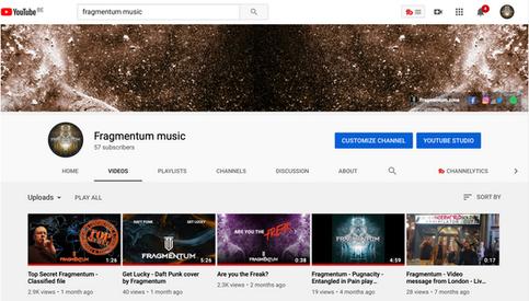 Fragmentum YouTube Channel