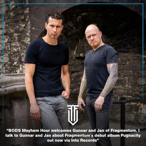 BODS Mayhem Hour with Jan & Gunnar