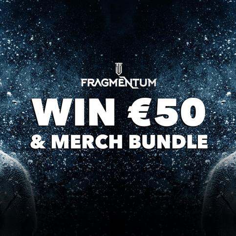 WIN €50 Cash & Merch Bundle! 💰🤘