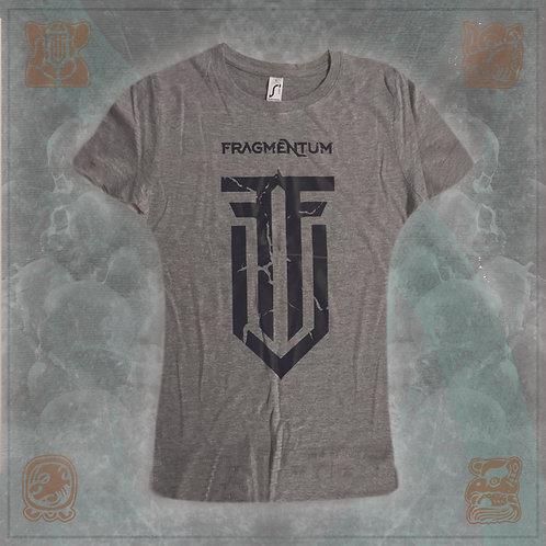 T-Shirt Logo Black ripple Female