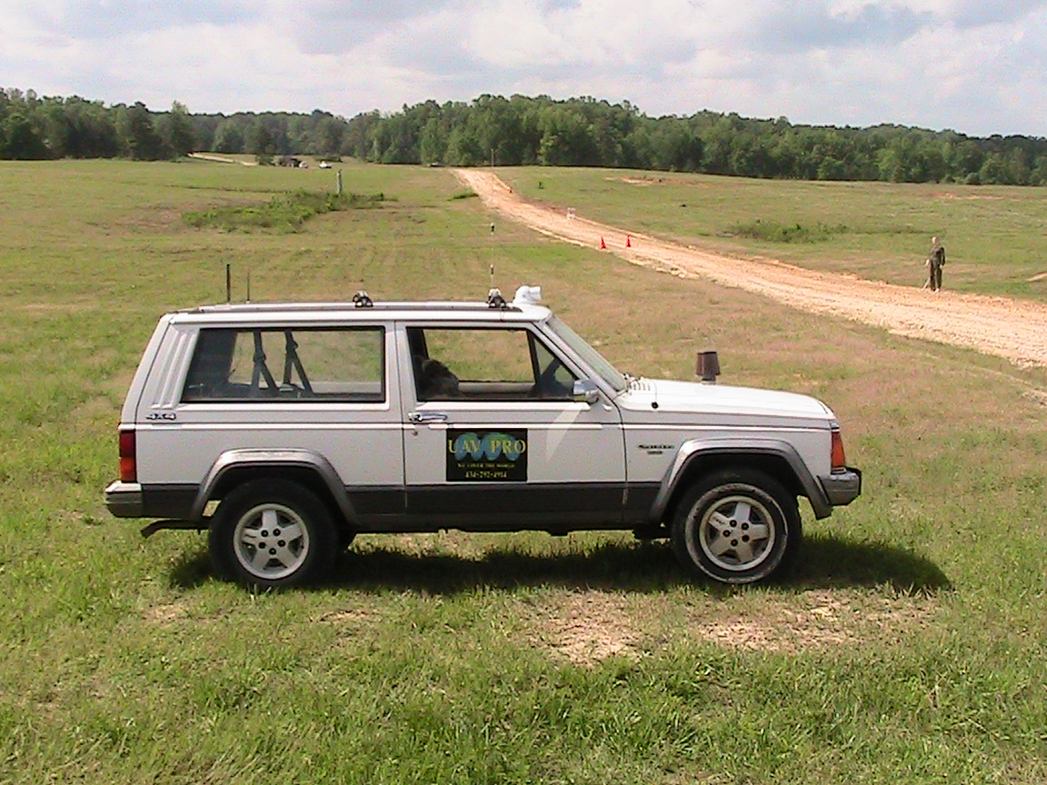 Unmanned jeep