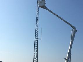 UAV PRO erects new communication tower