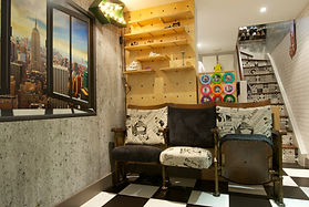 Bespoke interior design by Style Your Space : affordable interior design. Playroom inspiration | Gaming Space | Interior projects