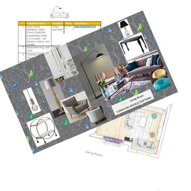 YOU receive a bespoke 'Style Your Space' package