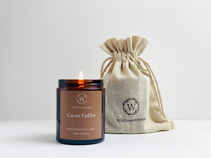 Cacao Coffee - Scented Soy Candle