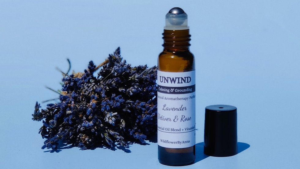 UNWIND Calming and Grounding Aromatherapy Roll on