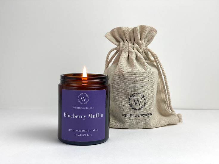 Blueberry Muffin - Scented Soy Candle