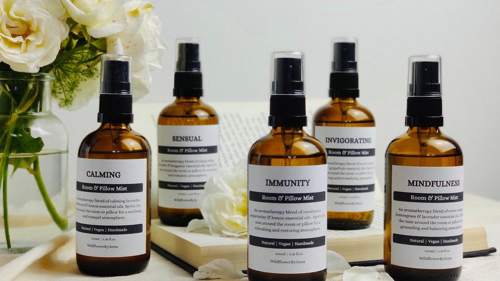 Room & Pillow Mist - Aromatherapy
