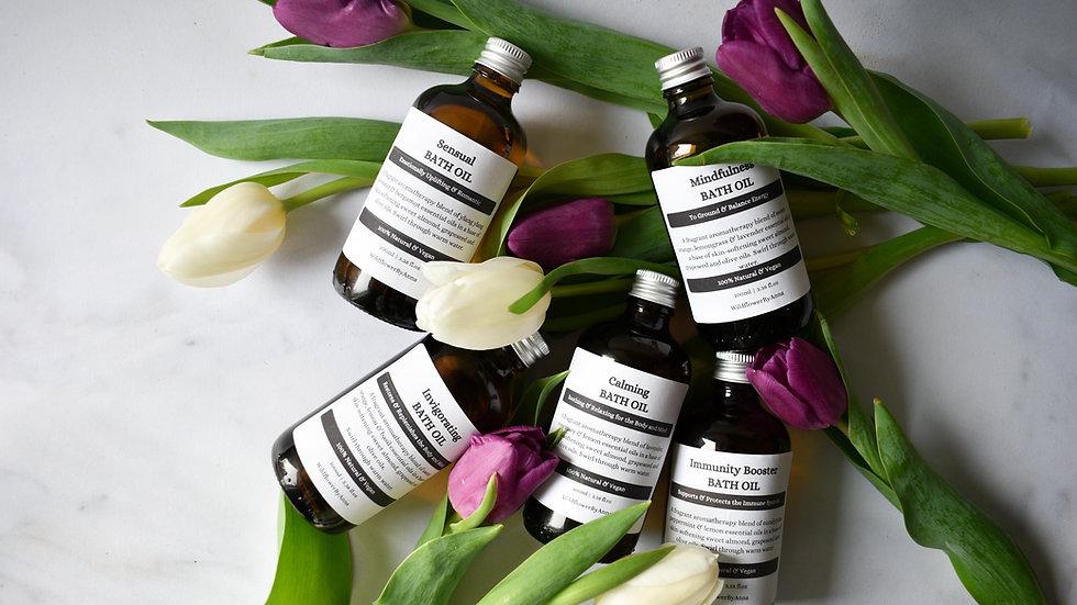 BATH OIL Aromatherapy Blend