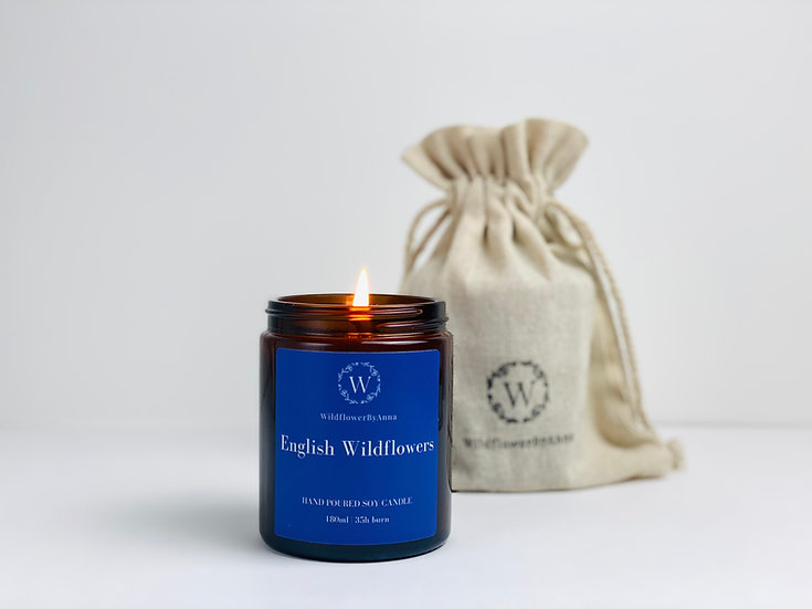 English Wildflowers - Scented Soy Candle