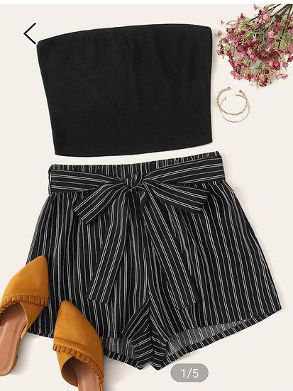 Top y shorts